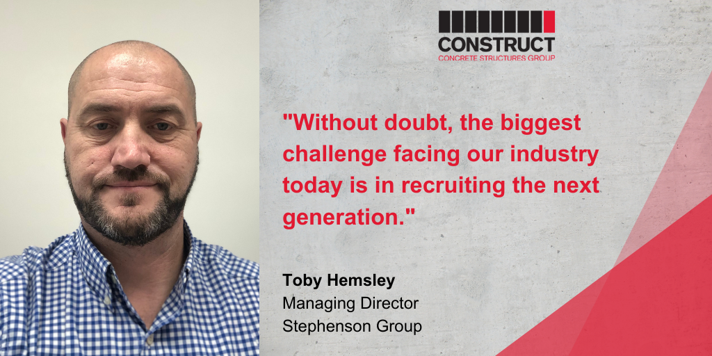 Member Interview Series: Toby Hemsley – Stephenson Group