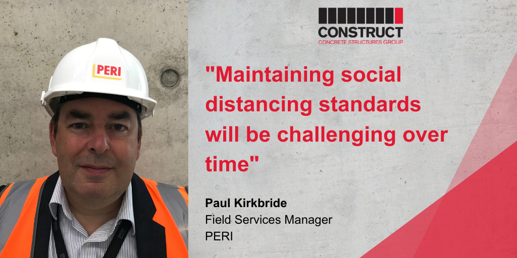 Member Interview Series: Paul Kirkbride – PERI