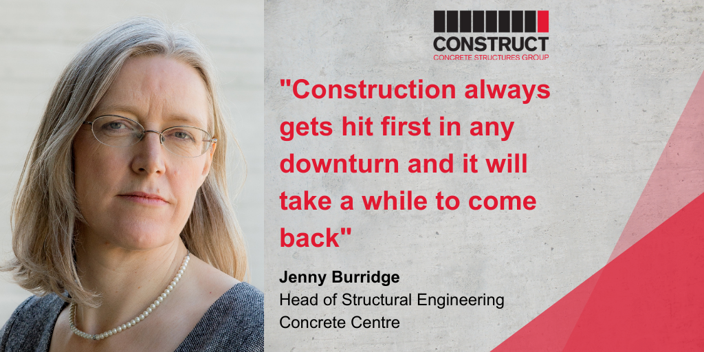 Member Interview Series: Jenny Burridge – Concrete Centre