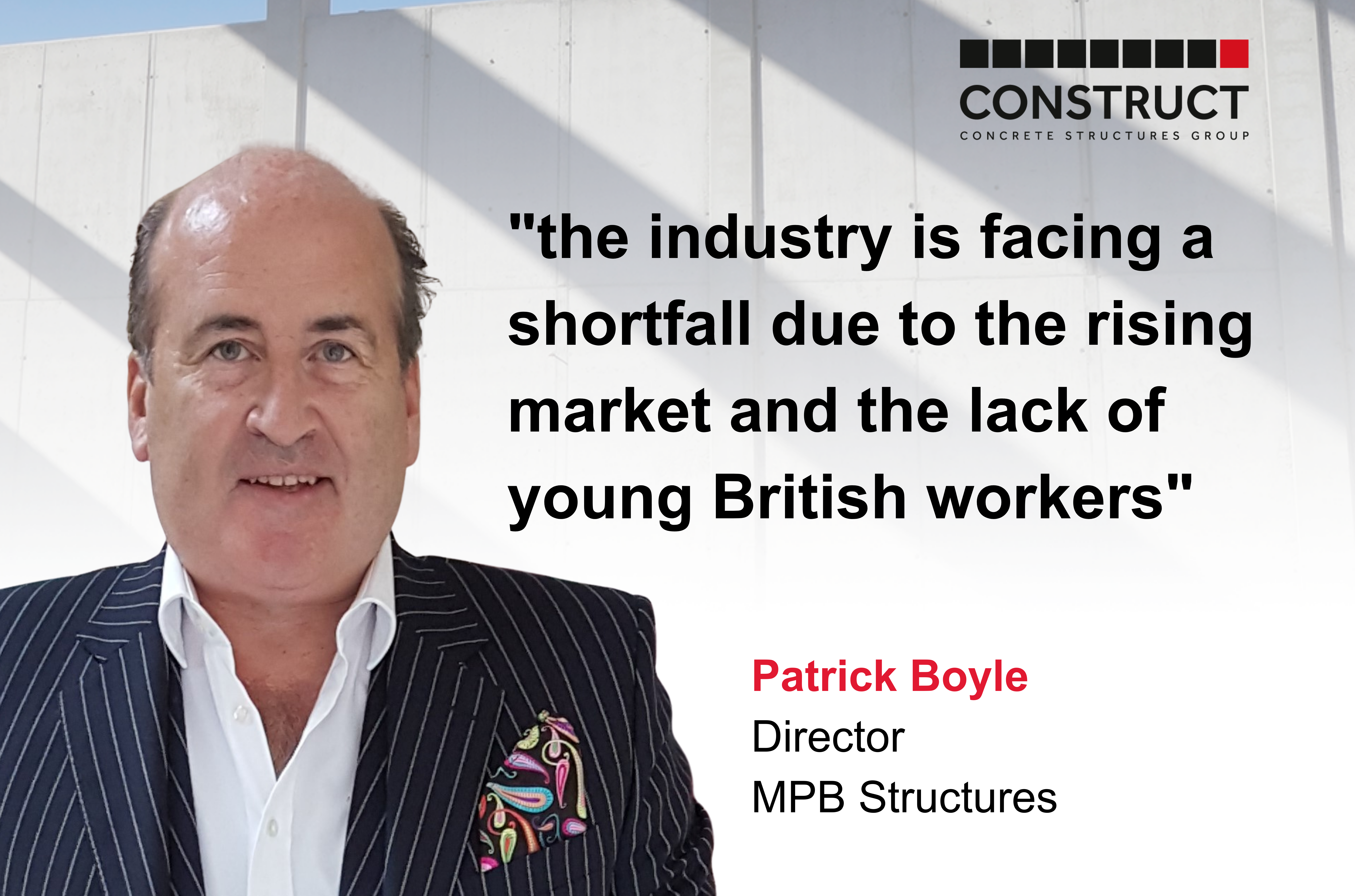 Member Interview Series: Patrick Boyle – MPB Structures